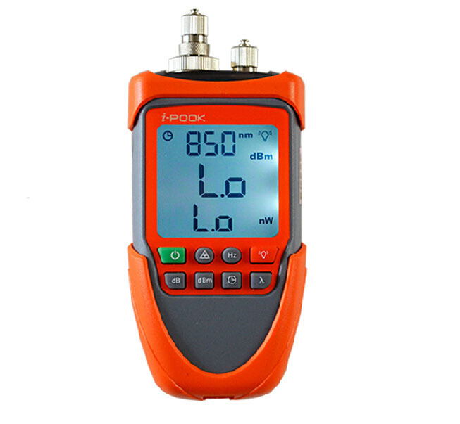 High-precision MINI Optical Power Meter Tester Handheld Optical Red Light Source PK56B Light power meter 10MW VFL