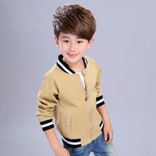 Boys jacket spring and autumn new children's clothing rags long-sleeved clothes zipper cotton jacket 3-12years long sleeved overalls suit male wear spring and autumn workshop factory clothes jacket auto repair clothing sanitation tooling l