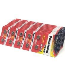 300pcs/lot New Original Battery For Panasonic LR41 LR 41 SR41 AG3 G3A L736 192 392A Zn/MnO2 1.5V Button Cell Coin Batteries [sa] new original special sales festo regulator lr 1 8 doi mini spot 192304 2pcs lot
