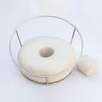 Новорожденных фотографии Porps рамки мешок фасоли реквизит портативный Съемная круглая рамка съемочный стол задний план фотография аксессуа