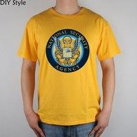 Homeland Security Network Google Internet Nsa T Shirt Cotton Lycra Top 9172 Fashion Brand T Shirt