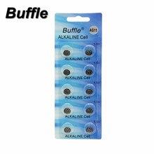 Buffle 10x 1.5V Button Coin Cell Watch Battery AG11 LR47 SR721SW LR721 V362