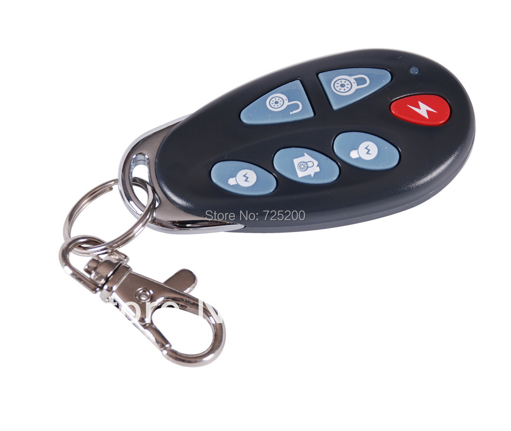 2pcs Free Shipping 868MHz PB-403R Wireless Remote Controller Key Fob for Meian Alarm Security System ST-VGT, ST-IIB, ST-V
