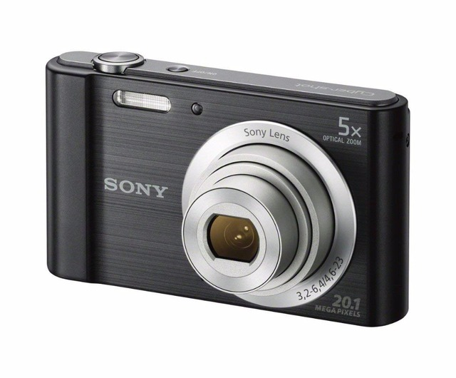 SONY DSC W800 20 MP Digital Camera 5x Optical Zoom CCD Free