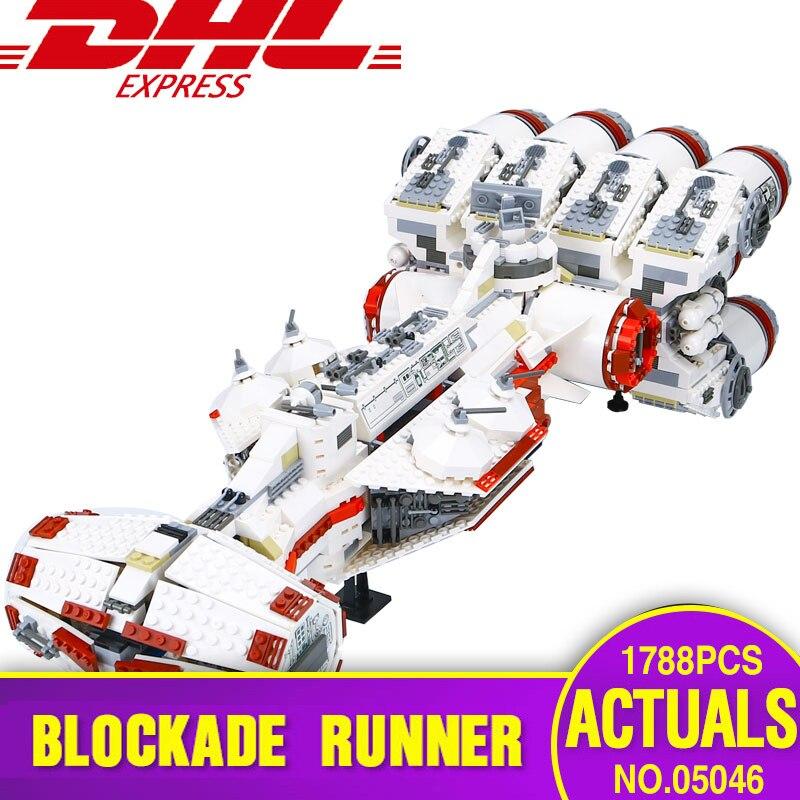 Lepin 05046 Étoiles Plan Série La Wars Tantive IV Blockade Runner Legoing 10019 Éducatifs Blocs de Construction Briques Jouets De Noël