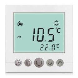 Floureon Wöchentlich Digitale Weiß LCD Screen Display Programmierbare Fußbodenheizung Zimmer Haus Heizung Thermostat Leistungsstarke Anti Jamming