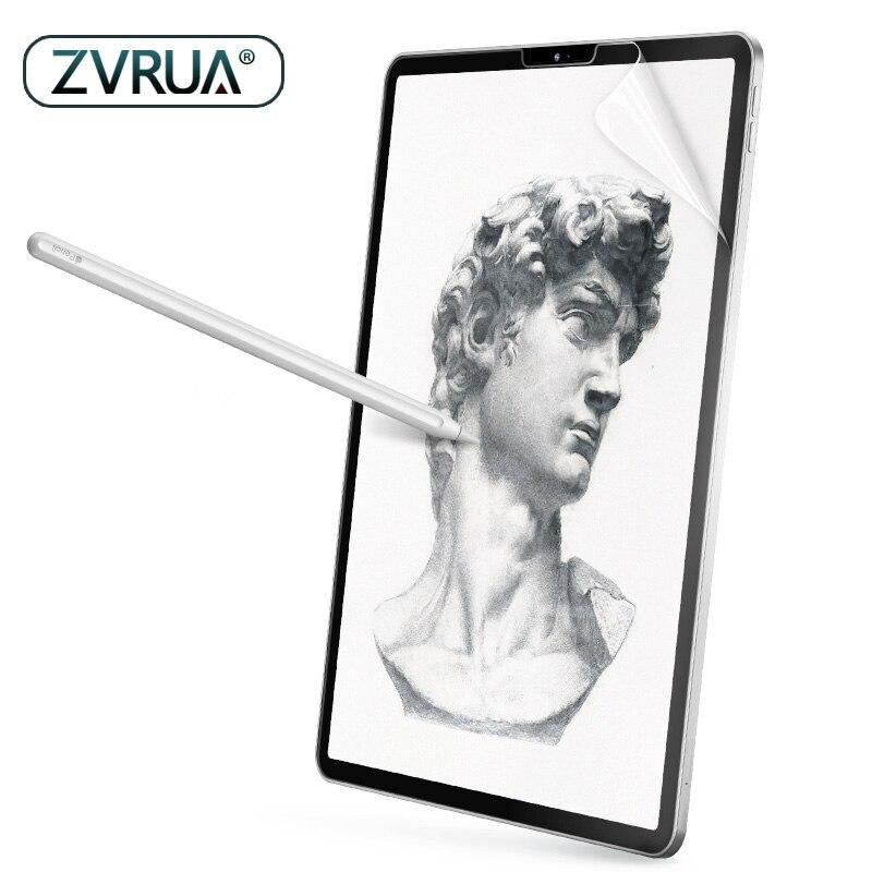 Papel como película protectora de pantalla mate PET Anti reflejo pintura para Apple iPad 9,7 Pro 10,5 mini 5 cara ID 11 12,9 pulgadas 2018 nuevo
