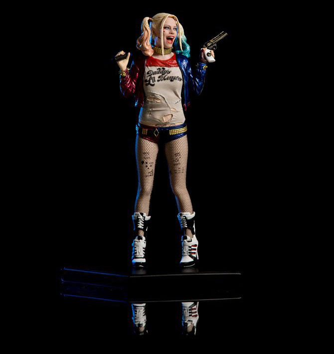 Tobyfancy DC Suicide Squad Harley Quinn 7 inch PVC Action Figure Harley Quinn Collection Model Toy ...