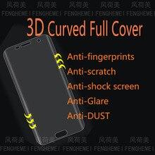 5 шт./лот FENGHEMEI 3D PET изогнутый Полноэкранный протектор для samsung S6 edge Plus S7 Edge S8 S9 Plus Note 8 9 S10 Plus S10e S10