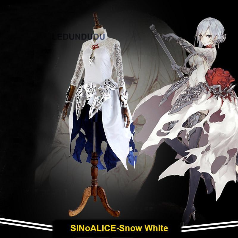 Best Seller 2017 New Game SINoALICE Snow White Cosplay