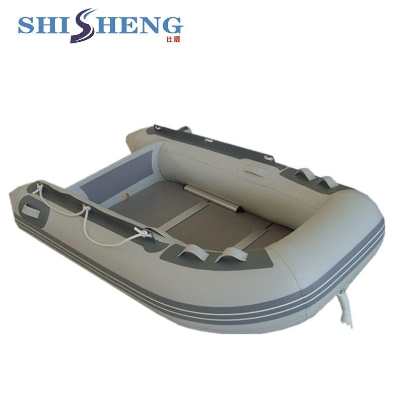 Mini bateau gonflable portatif petit bateau de ventre pour la pêche - 2