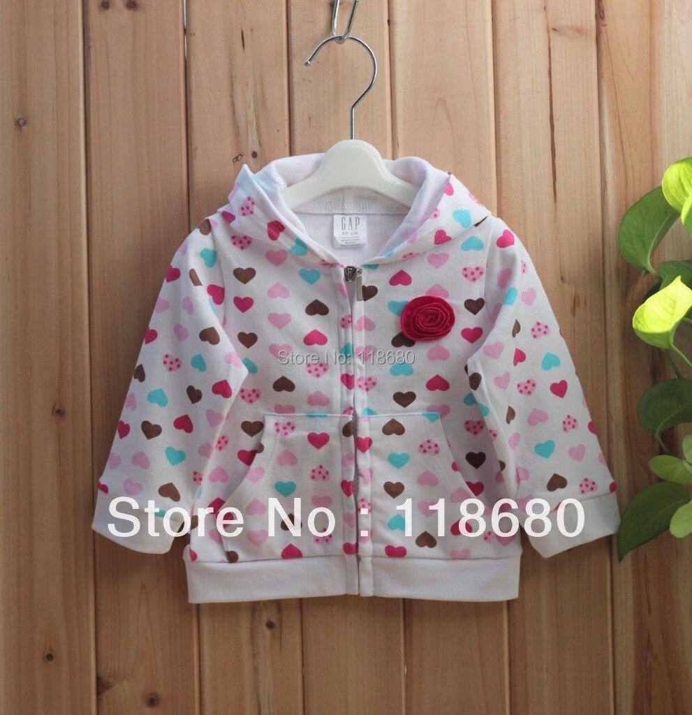Cappotto del cardigan di amore stampato bambini del rivestimento - Abbigliamento per neonato