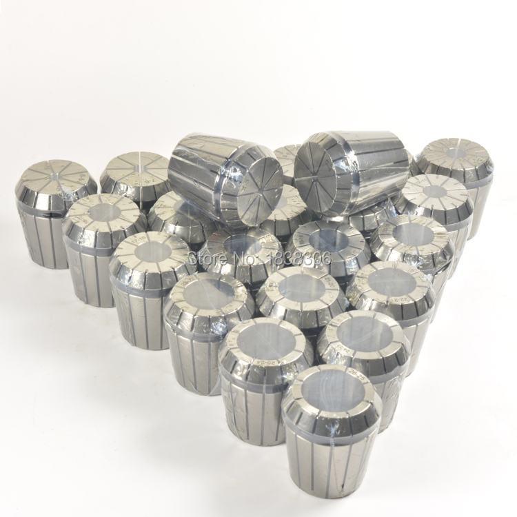 6PCS ER40(22mm-26mm)I.T.R 0.015 Spring collet set for CNC milling lathe tool/milling cutter/cylindric straigt tool holder