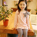 2017 New children clothing sets spring and autumn girls clothes Sportswear suit kids wear