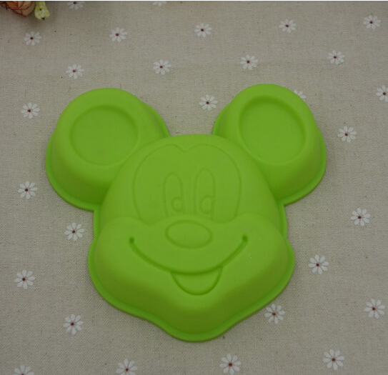 Yonghao Hot DIY Cartoon Mickey Mouse Cake Molds Silicone Mold Cake Decorating Tools Cake Mould Cute Kitchen Accessories M65