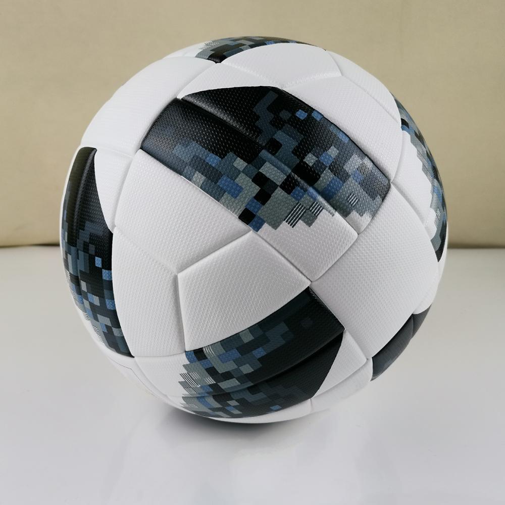 Official Size 5 Football Ball PU Granule Slip-resistant Seamless Soccer Ball Gift Goal Team Match Football Training Balls