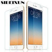 SIBEIXUN 500 шт микс 0,26 мм 2.5D 9H Закаленное стекло Защитная пленка для экрана iPhone X iPhone 4 4S 5 5S 5C iPhone 6 6S 7 8 plus