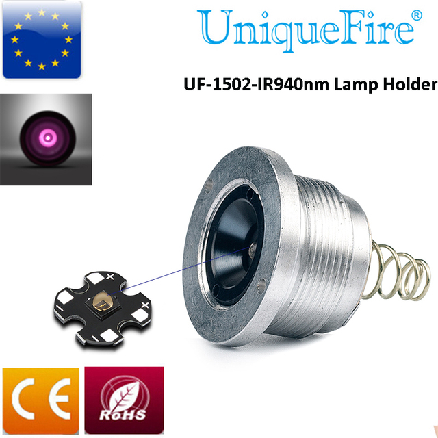 UniqueFire UF-1502 4715S IR 850nm Led Bulb Infrared Lighting LED Lamp Holder  Led Drip in Pill