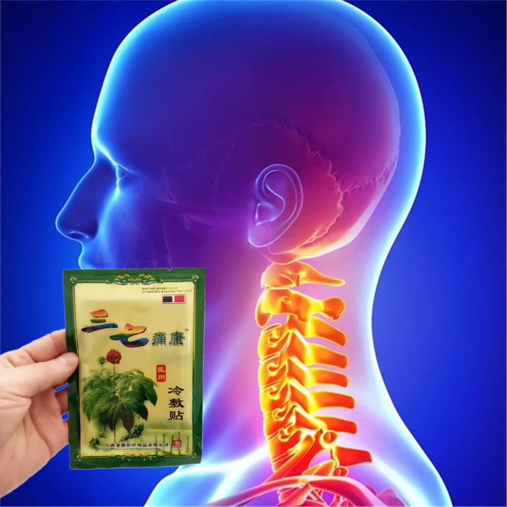 Notoginseng Far infrared Magnetotherapy Essential Oil Patch Neck Muscle Medical Cold Com ...