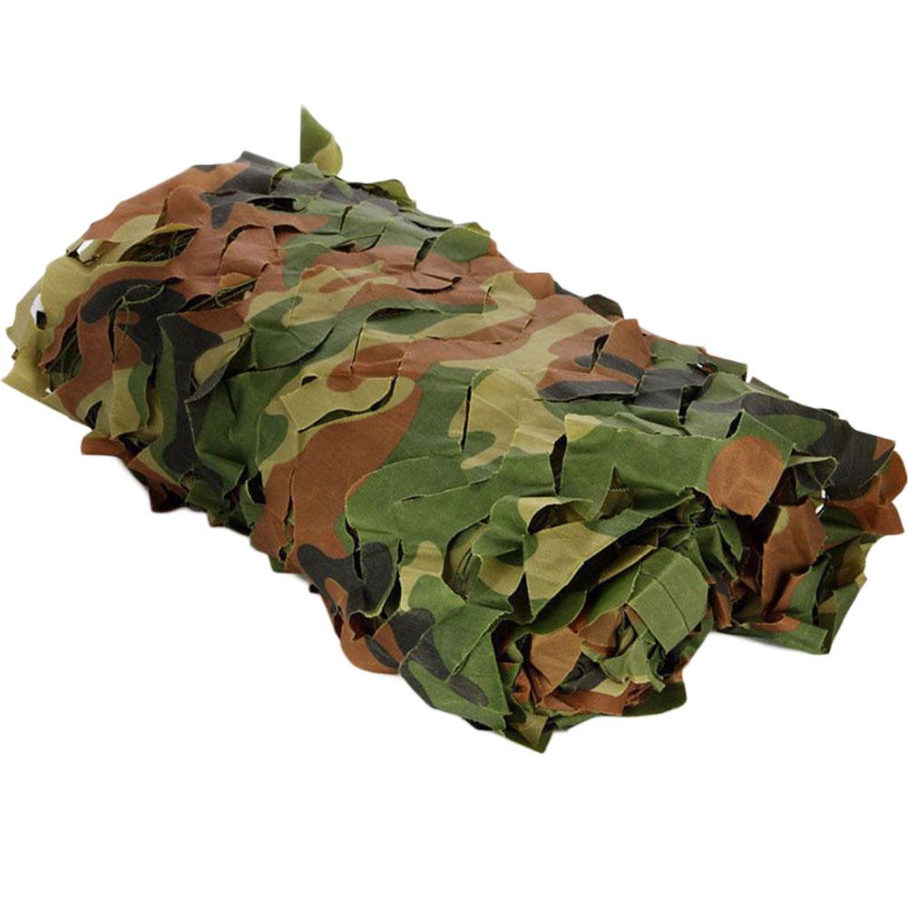 2 м X 3 м OxfordHunting Военная камуфляжная сетка Лесной Армейский Камуфляж неттинг Кемпинг солнцезащитный тент Автомобильный солнцезащитный походный инструмент