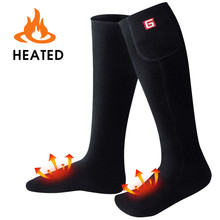 Global Vasion Electric Heated Socks with Rechargeable Battery for Chronically Cold Feet