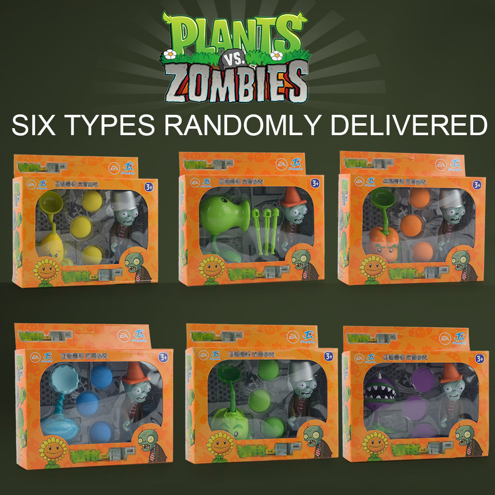 ALI shop ...  ... 32858573374 ... 2 ...  Plants VS Zombies PVC Action Figure Set Collectible Mini Figure Model Toy Gifts Toys For Children High Quality Brinquedos ...