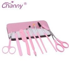 Channy Eyebrow Makeup Tools Set Tweezers Eyebrow Trimmer Makeup