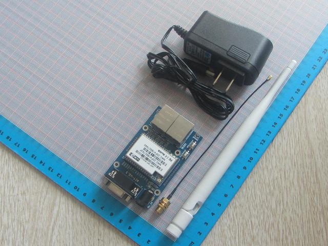 Envío Libre serie al Módulo de wifi Industrial HLK-RM04 RM04 Ethernet WIFI módulo de control del hogar inteligente