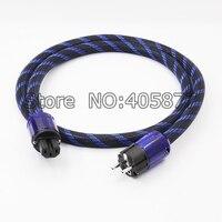 Hi End Schuko Power Cable EU Power Cord with EU Plug Mains Power Cable HIFI Audiophile European AC Power Cable
