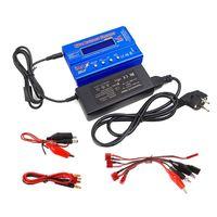 Imax B6 Mini Balans Lader Ontlader Lipo Nimh Nicd Rc Batterij Lader Ontlader Met Adapter Eu Plug-in Opladers van Consumentenelektronica op