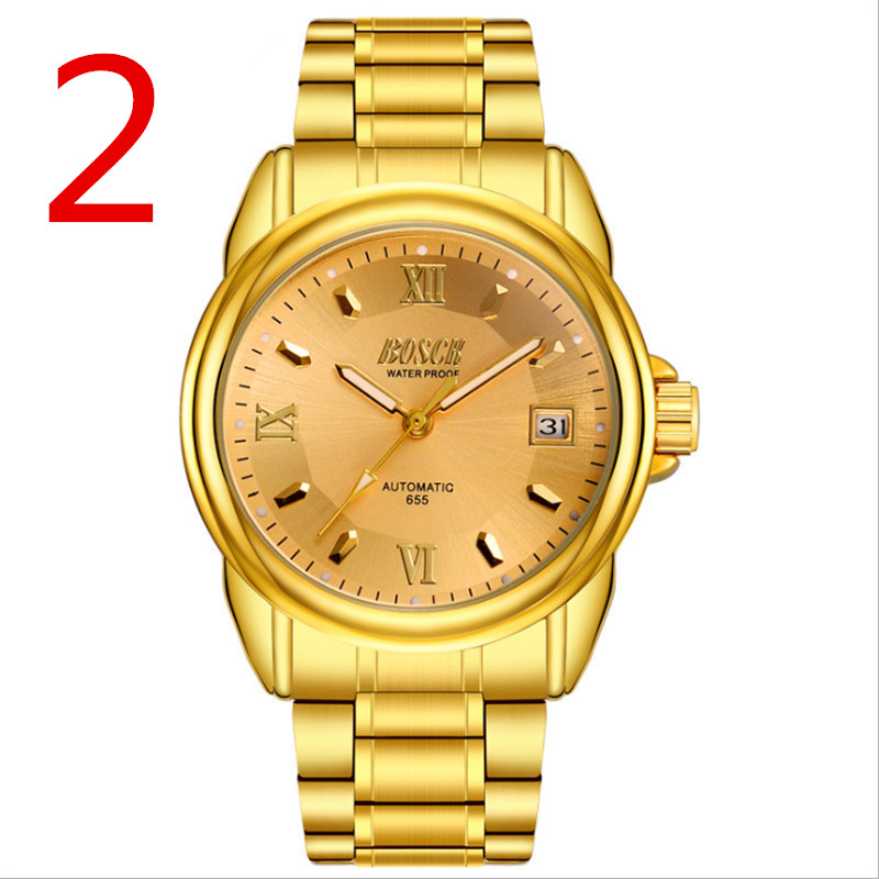 Luxurious and noble and mature men's business watch, full of mature man charm.