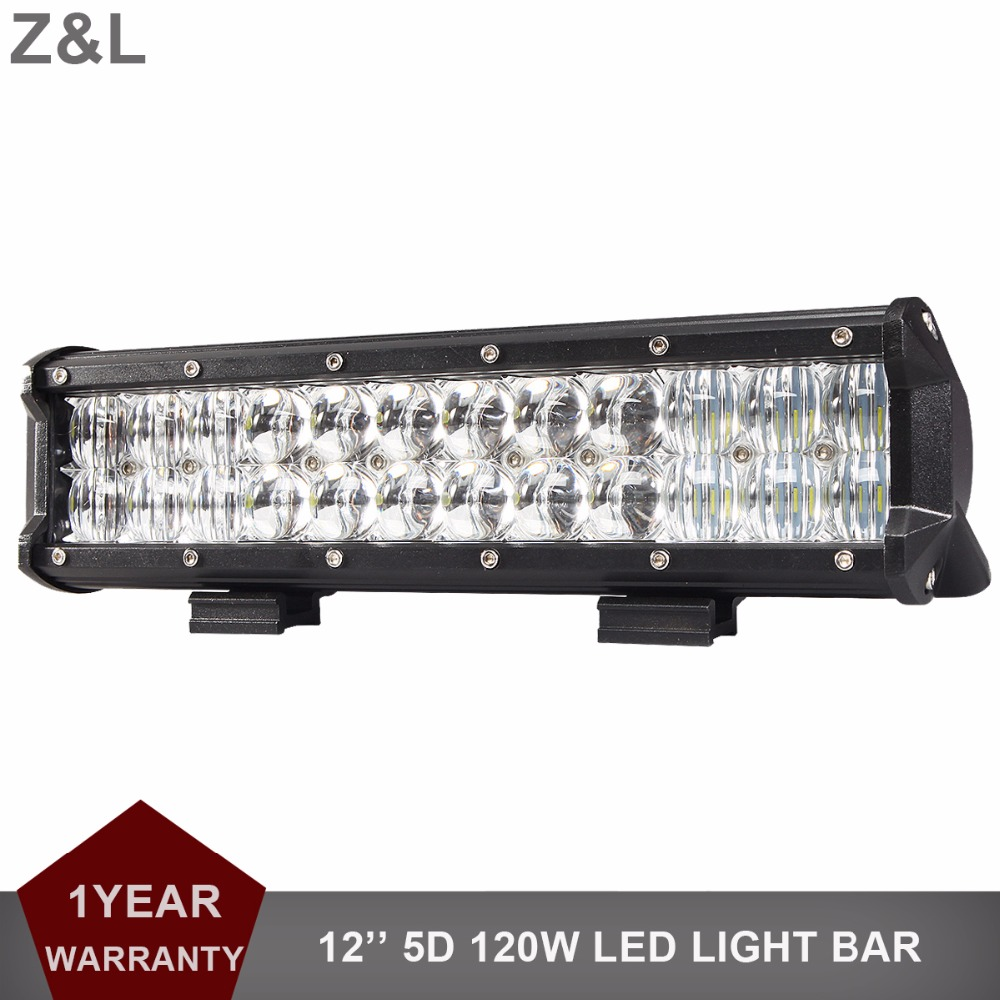 12INCH 120W Offroad LED Work Light Bar Combo Car SUV Boat ATV 4X4 4WD Truck Pickup Van Camper RZR 12V 24V Driving Lamp Headlight 4d for philips led bar 120w 12 spot led light bar offroad atv truck 4x4 utv 4wd truck rzr 12v 24v camper tractor page 1