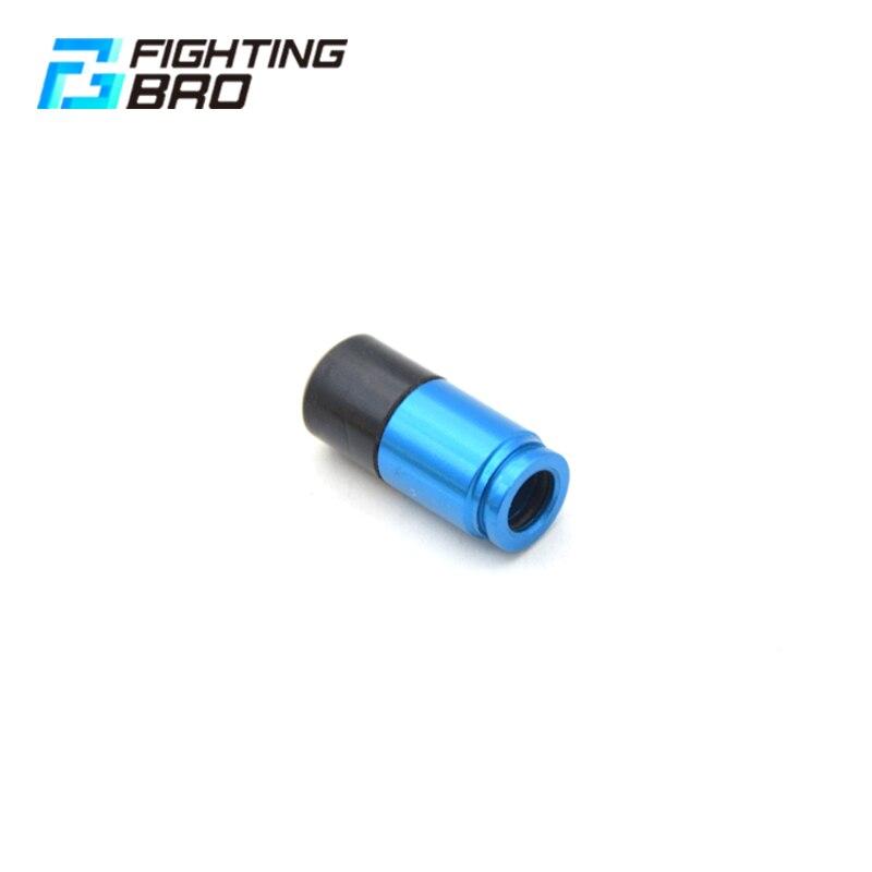 FightingBro Air Nozzle For 3.0 Gel Split Blaster Gearbox Accessories CNC Aluminum Ver.2 Update M4 Paintball Air Gun