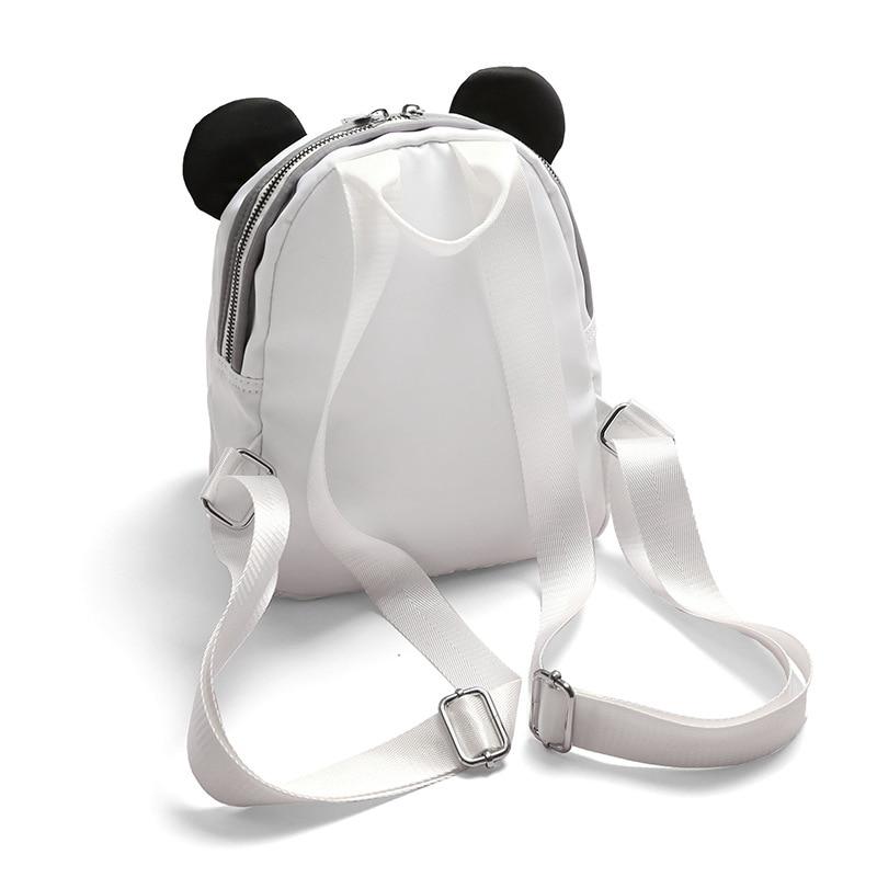 Orecchio Di Zaino Studentessa Della Viaggio Moda Animale Cute Sacchetto Casual Zaini Impermeabile Bookbags Spalla Semplice Piccolo Ragazza Panda E5wqIAS