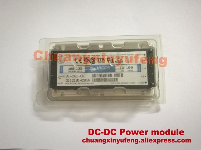 VI-262-CW VICOR DC-DC Power module DC300V-15V100W6.66A isolated power supply module