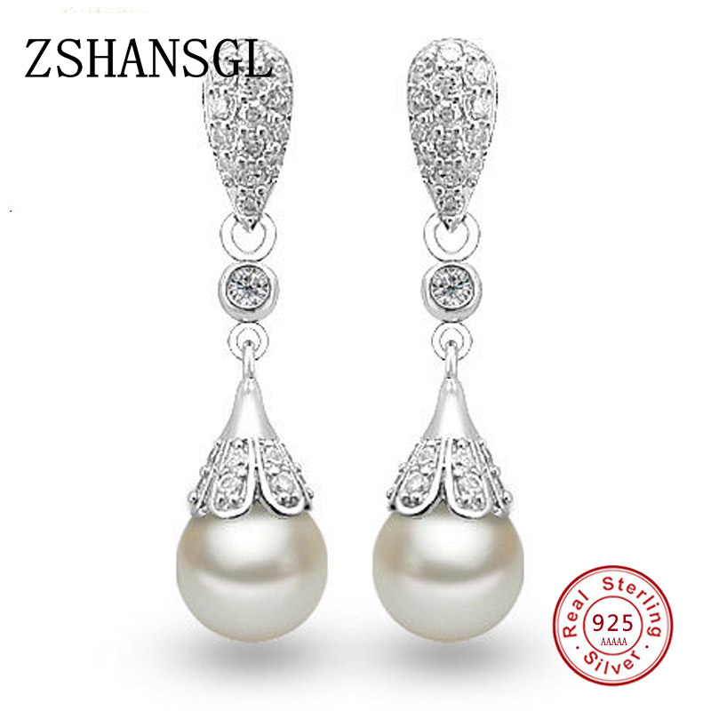 Trendy Moonstone Ear Stud Crystal Earrings Ornament Gift Charm Chic Statement DS