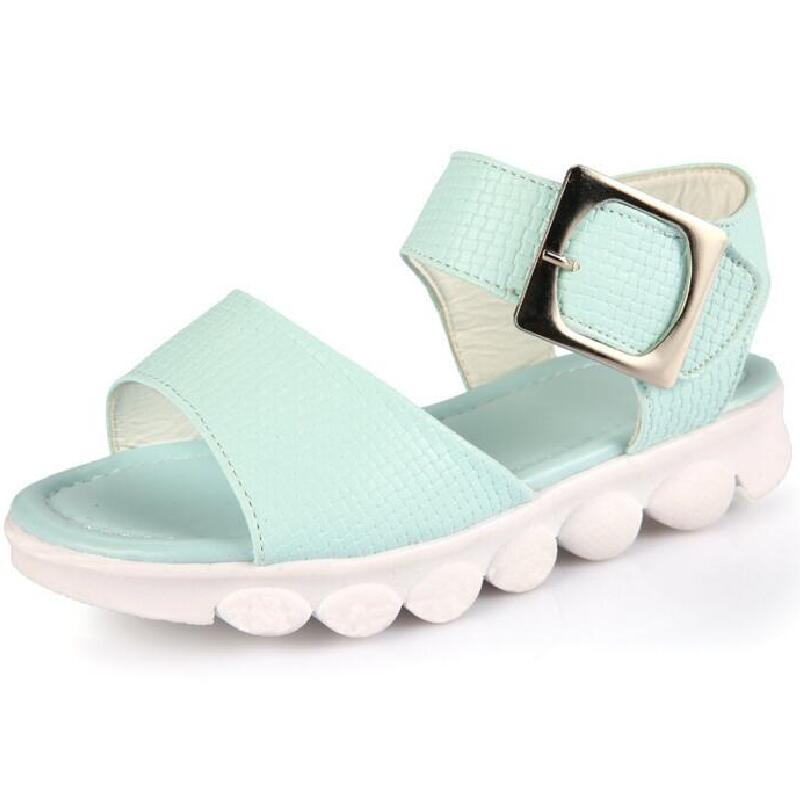 2018 New summer beach kids shoes children sandals for boys and girls princess sandals for 3-12 years old kids shoes size 26-36