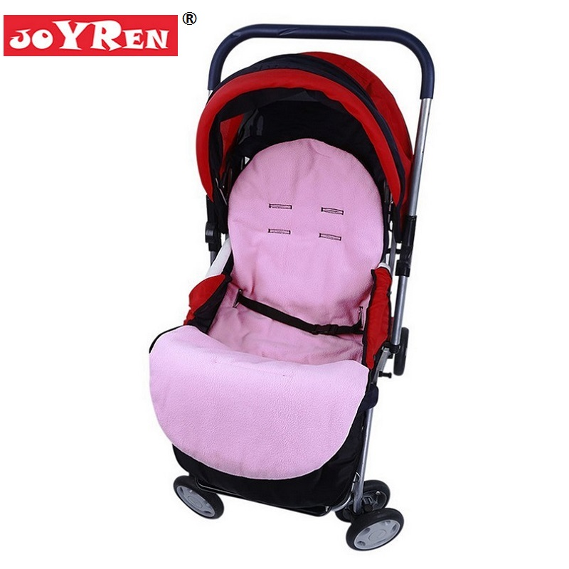 New Brand JOYREN Baby Stroller Footmuff Accessories Thick fleece Prams Foot Cover For Carriage in Winter KF096