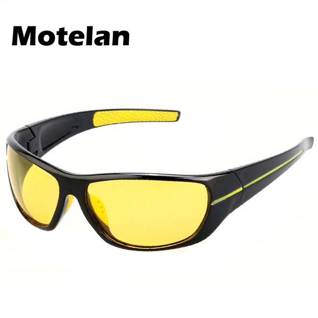 New Homens Mulheres Moda Óculos Polarizados óculos de Sol Motorista Polarizador de Condução À Noite Ao Ar Livre Reforçada Luz Para Fog Dia Chuvoso Nublado