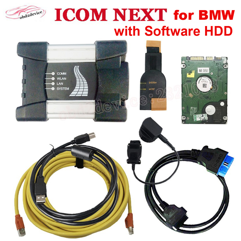 V03.2020 ICOM NEXT for <font><b>BMW</b></font> cars Programming <font><b>Diagnostic</b></font> Tool with 500gb HDD Software installed no wifi Icom next for <font><b>BMW</b></font> Motorcyc image