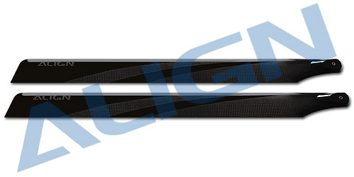Align Trex 425 Carbon Fiber Blades Black HD420H  Align trex 500 Spare parts Free Shipping with Tracking-in Parts & Accessories from Toys & Hobbies    1