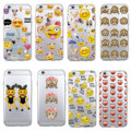 Funny Emoji smiley Monkey Cartoon Heart Soft Clear Phone Case Fundas Coque For iphone 7 7Plus 6 6S XS Max 8 8Plus X SAMSUNG S8