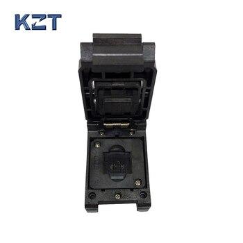 EMMC153/169 A DIP48 toma de prueba tamaño del cuerpo del IC 12x16mm paso del Pin 0,5mm BGA169 BGA153 adaptador de lector de Clamshell Recuperación de datos