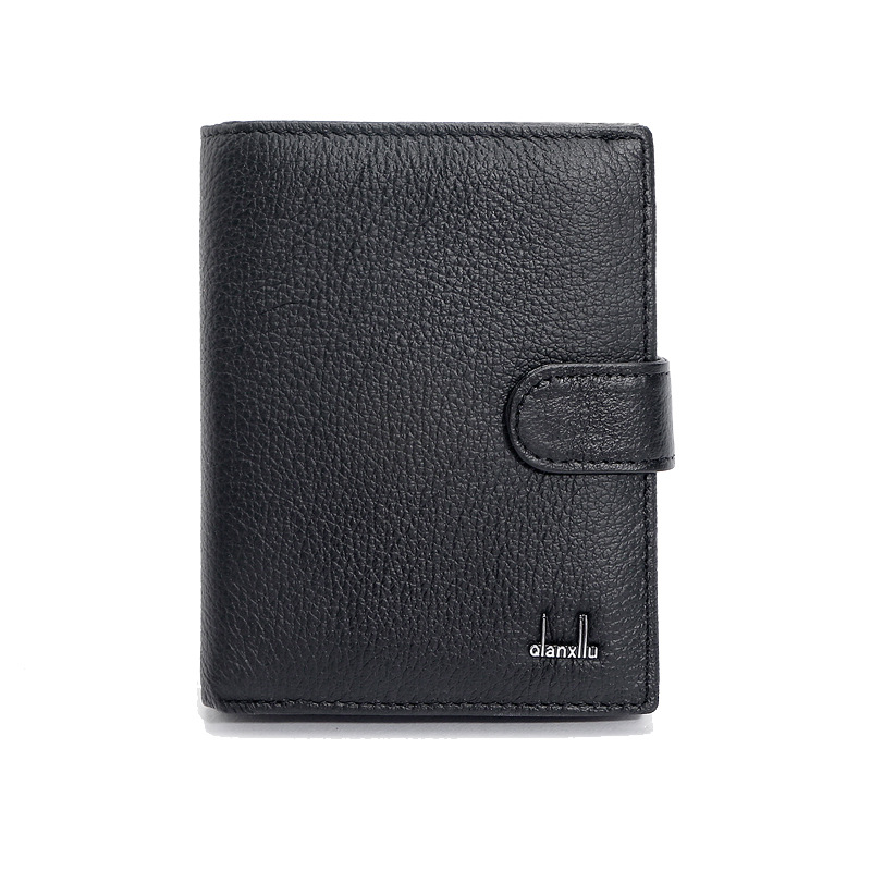 Genuine Leather Mens Passport Holder Wallets Man Cowhide Passport Cover Purse Brand Male Credit&Id Car Wallet onlvan mens wallet crazy horse genuine leather cowhide cover coin purse man vintage male credit id multifunctional wallets