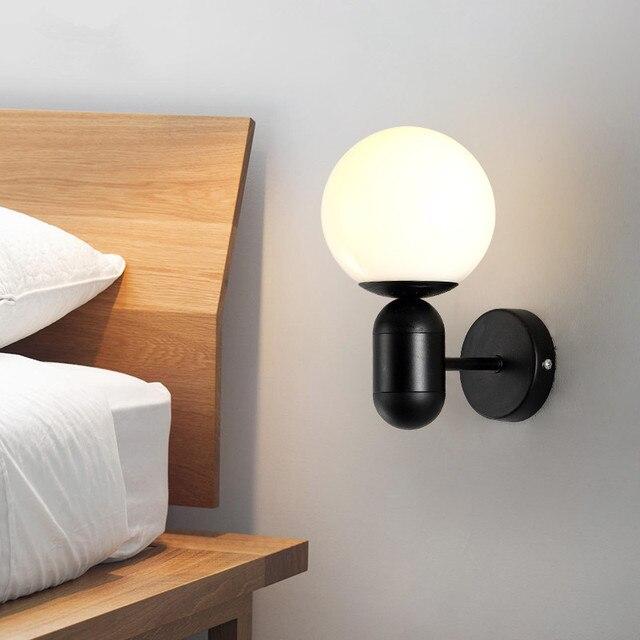 Modern Wall Lamp Bedroom Bedside Wall Light Sconces Lighting Light ...
