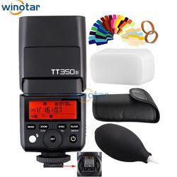 Godox Mini Speedlite TT350S Camera Flash TTL HSS GN36 for Sony Mirrorless DSLR Camera A7 A6000 A6500 A7R A7R II A55 A99 A77 II
