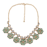 Brand Summer Love Flower Choker Bib Necklaces For Women And Girls Cute Sweet Jewelry 2017 Spring