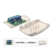 ABS чехол для SONOFF DIY 4 канала реле Jog Wifi беспроводной Умный домашний переключатель