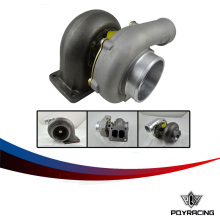 PQY RACING-TURBO  T04Z T70 T4 flange A/R 84 A/R 0.70 OIL cold 4″ V band TurboCharger T04Z-1 PY-TURB040