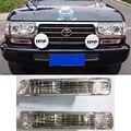 Amortecedor dianteiro Front Light Turn Signal Lâmpada Para LAND CRUISER LC80 FJ80 FZJ80 4500 1991-1998